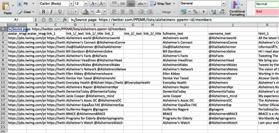 17 Twitter Scraping-Open Data