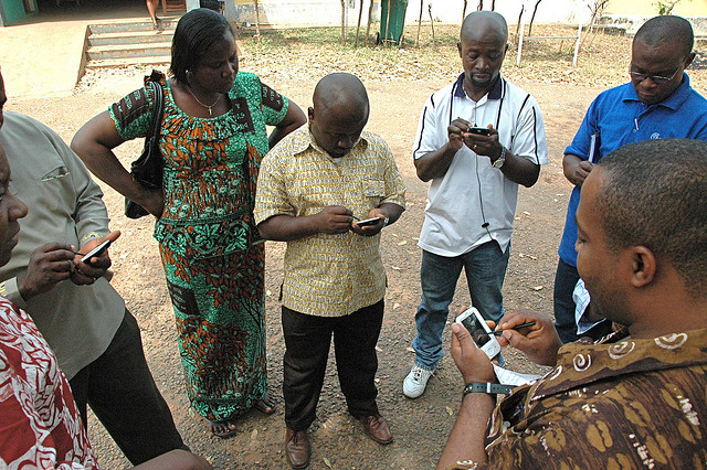 Health Workers Coordinate Mobile Data Collection Campaigns | by UN Foundation