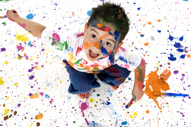 Splattering means the effects of your efforts don't only show up where you intended.
