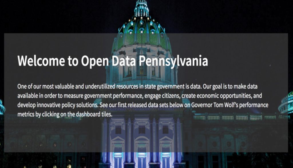Pennsylvania's open data portal allowed us to access heath care and graduation data on students not in the program.