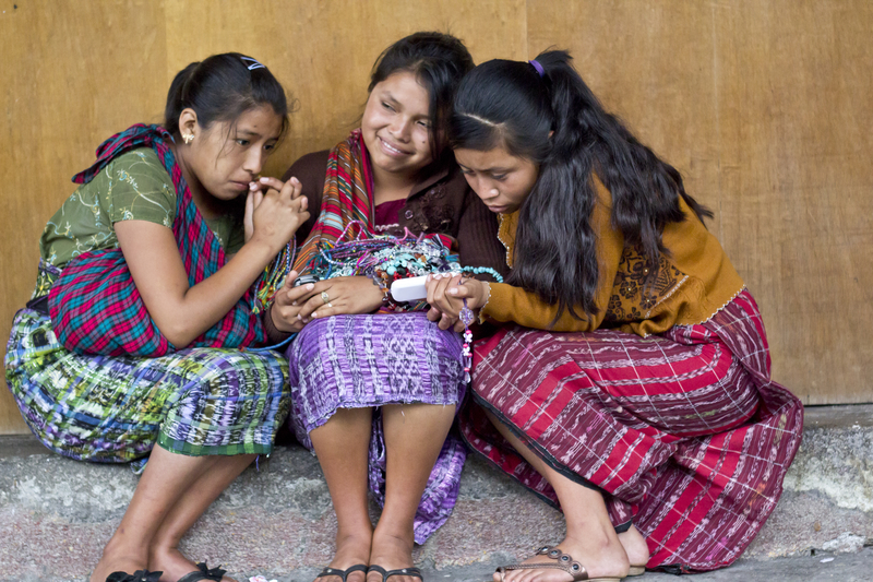Marginalized groups don't have the same access to mobile phones as others and can be overlooked with mobile data collection.